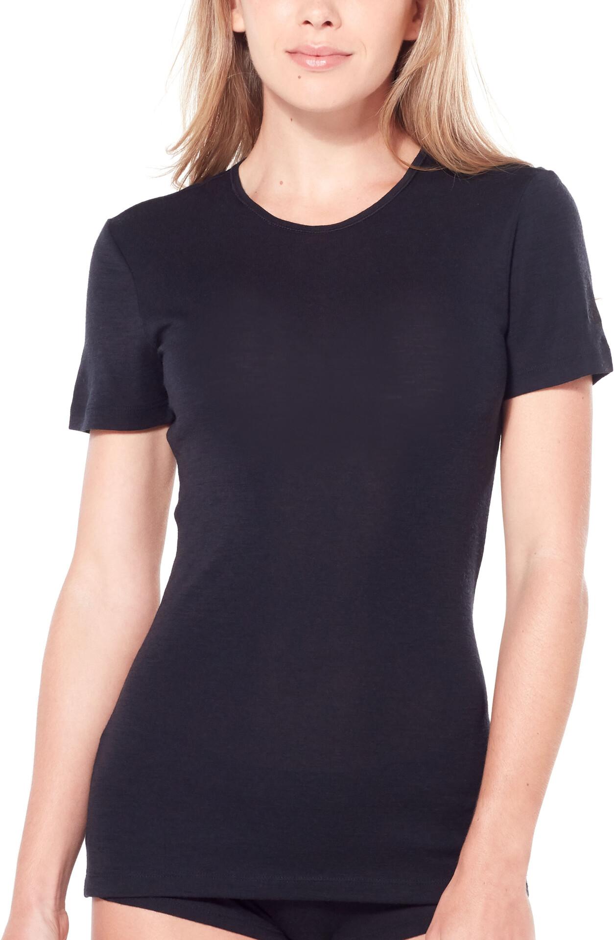 Icebreaker 175 Everyday T shirt Damer, black